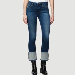 Frame Denim Women's Le Crop Mini Boot Jeans NWOT